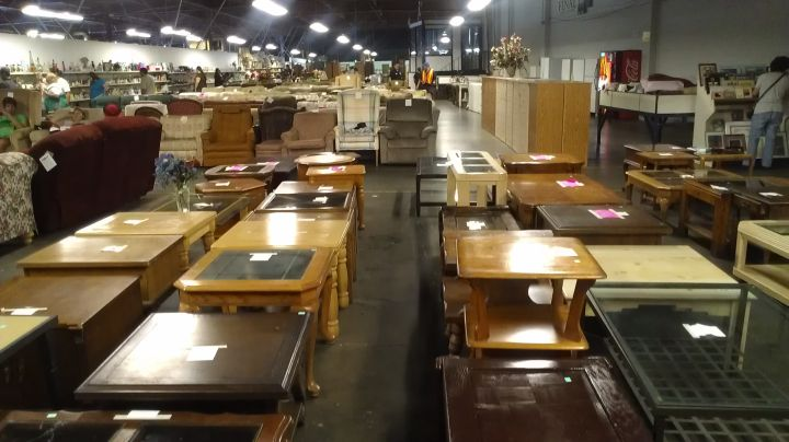 A Giant St Vincent De Paul Thrift Store A Bunch Of Pianos There With Los  Angeles Thrift Stores Furniture